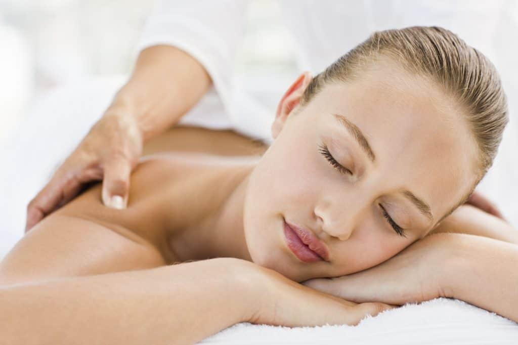 Woman getting the best massage in Tamarindo